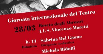 Roseto: giornata internazionale del Teatro