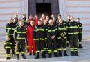 Direttore regionale dei vigili del fuoco visita la caserma di Roseto